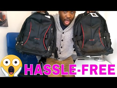 WHEELED LAPTOP BACKPACK || Massive Unboxing (YouTubers)