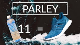 ADIDAS ultra boost x shoes made from the sea recycled plastic bottles