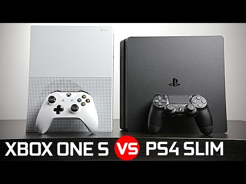 Playstation 4 Slim vs Xbox One S - Battle of The Compact Gaming Console!