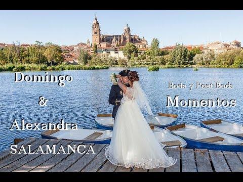 Momentos Boda y Post Boda Domingo y Alexandra - Salamanca y Sevilla