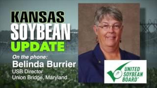 Farm Factor - Kansas Soybean Update featuring Belinda Burrier - October 18, 2016