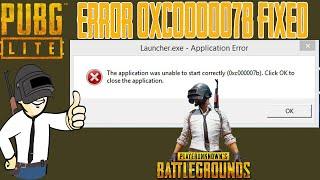 pubg lite pc launcher error 0xc00007b hindi - Thủ thuật máy tính