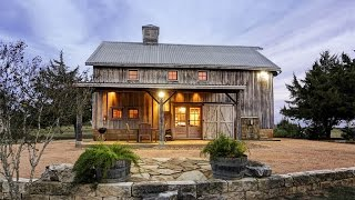 Rustic Historic Barn Residence In Burton, Texas