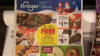 Kroger Weekly Ad Preview—12/4/19-12/10/19–NEW MEGA EVENT!!!! 🙌