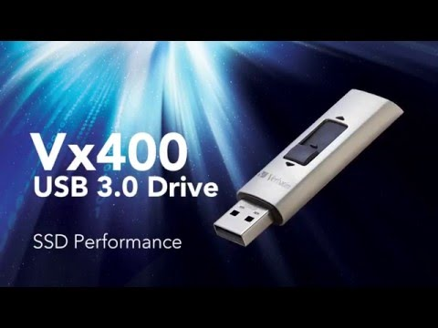 Verbatim Vx400 USB Drive with SSD Performance