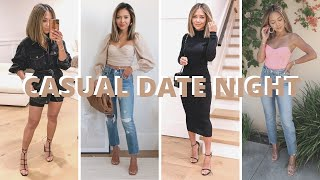 Casual Date Night Outfits + Lookbook | 6 Night Out Outfits