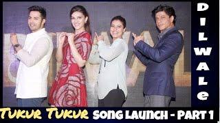 Dilwale Tukur Tukur Shahrukh Kajol Kriti Varun Sings Their