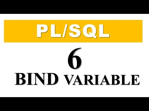 PL/SQL tutorial 6: Bind Variable in PL/SQL By Manish Sharma RebellionRider.com