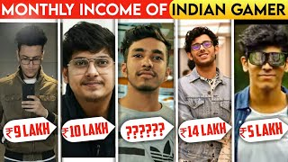 Monthly Income Of Biggest Indian Gamers | Who is no. 1 | Techno Gamerz | Battle Factor