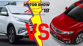 #KLIMS 2018: Perang SUV Proton vs Perodua , yang mana akan menang di pasaran?