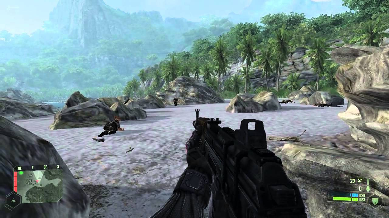 Straight From The Future, It's Crysis Running On A VR Headset