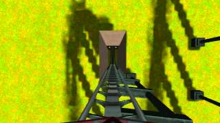 preview picture of video 'Let's Show Rollercoaster Tycoon 3 - Achterbahn Looper'