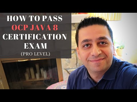 How To Pass Your OCP Java 8 Certification Exam - YouTube