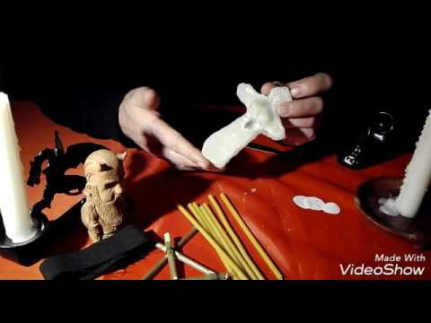 Как сделать куклу Вуду (вольт) (18+). Уроки колдовства#21