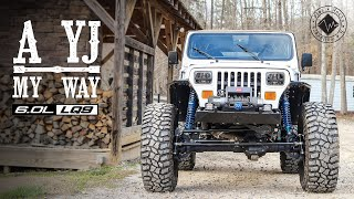 A YJ my Way | V8, One Tons and 40's