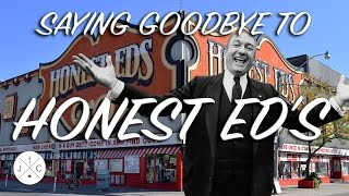 Toronto landmark Honest Ed's is Closing - J&C Toronto