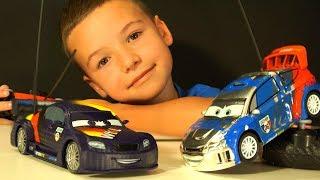 Макс Шнель и Рауль на Радиоуправлении - Машинки из Мультика Тачки 3 - Игрушки для мальчиков