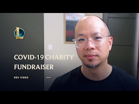COVID-19 Charity Fundraiser Announcement – League of Legends