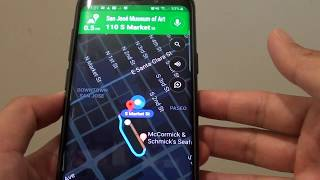 Samsung Galaxy S9: Ask Bixby to Set Map Direction to a Location