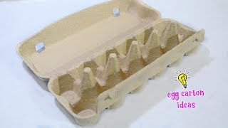 4 FUN THINGS TO MAKE WITH EGG CARTONS!