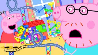 Peppa Pig Official Channel   Peppa Pig's Best Marble Run Challenge