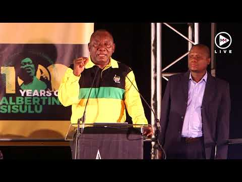 Five times Ramaphosa emphasised unity in the ANC