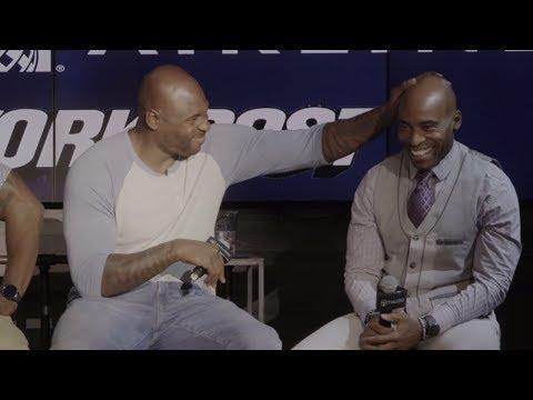 Tiki Barber, Brandon Jacobs, and Ahmad Bradshaw Talk Super Bowl, Eli, & Saquon | NY Post Sports