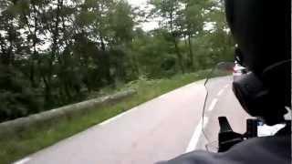 preview picture of video 'Frankrijk, Ardeche 1001 bochten, Juli 2012, BMW RT 1200'