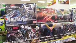 preview picture of video 'Bandai Gundams, Aeon Station 18, Ipoh'