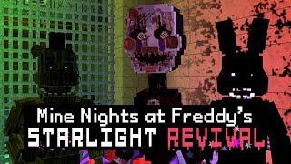 MINE Nights at Freddy's 5 - Starlight Revival - Night 4 (Minecraft FNAF Roleplay)