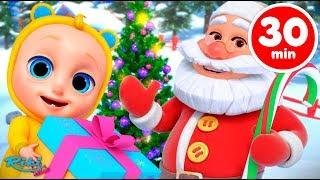 Jingle Bells Johny Johny | Christmas Songs | Nursery Rhymes for Babies на русском!