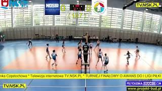 tv.nsk.pl 2019-04-26 NOSiR Nowy Dwór Mazowiecki vs UKŻPS Coccodrillo Kościan 3:0