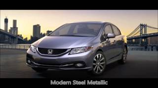 preview picture of video '2015 Honda Civic HF Colors - Hagerstown Honda'