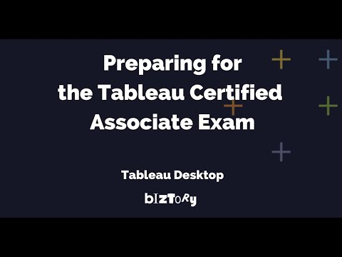 Biztory | How to prepare for the Tableau Certified Associate exam ...