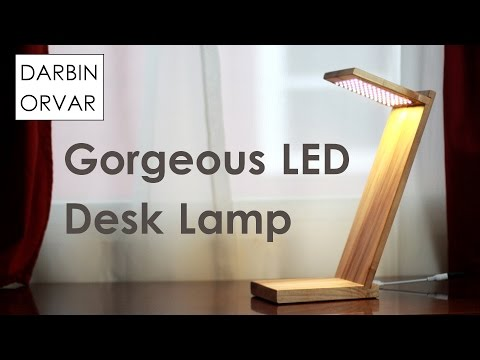 Make Your Own LED Desk Lamp