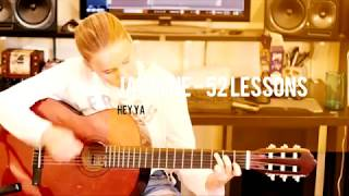 OutKast - Hey Ya! - Acoustic Cover by Jasmine - Guitar Lessons
