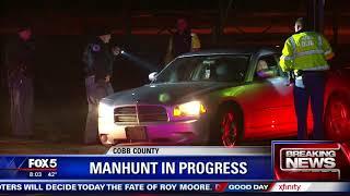 Manhunt in Cobb County