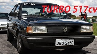 GOL AP TURBO 517CV! MEU PRIMEIRO CARRO TURBO!