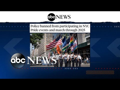 Police react to NYC Pride March ban