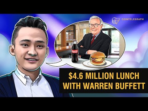 $4.6 Million Lunch With Warren Buffett | Interview With Tron CEO Justin Sun