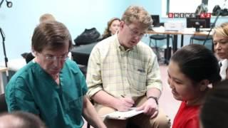 проект «Дети – наше будущее» Осмотр пластических хирургов из США, специализирующихся на помощи детям