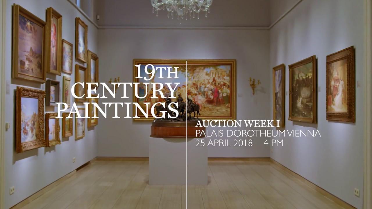 Gemälde des 19. Jahrhundert | Preview | Auktionswoche April 2018