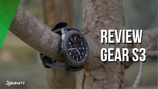 Gear S3, review del smartwatch de Samsung