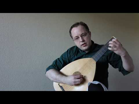 "Video of me playing Capirola's ""Spagna Prima"" (c.1517)."