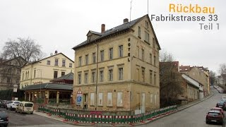 preview picture of video 'Altenburg (Thüringen): Abriss Fabrikstrasse 33 (Teil 1) - HD - ALTENBURG.DOKU.'