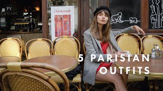 5 Parisian Outfits For Autumn And Shopping Rules with Mara Lafontan | Parisian Vibe