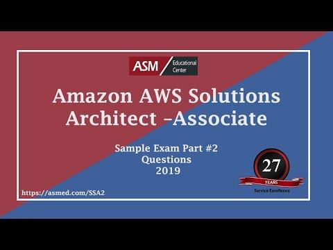 Amazon Solution Architecture Associate Practice Exam Part 2 ...