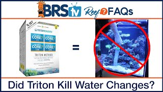Triton Method Reef Tanks - Eliminating water changes in your saltwater aquarium - BRStv Reef FAQs