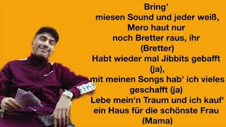MERO   Wie Buffon (Lyrics)