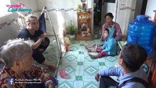 Chị Kim Thoa, chú Hy anh Long giúp gia đình anh Lý mù trả nợ l Nhịp Cầu Nhân Ái